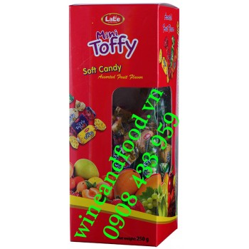 Kẹo trái cây mềm Mini Toffy Lale 250g
