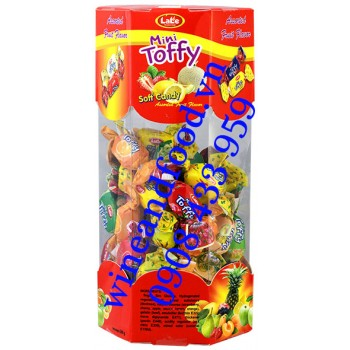 Kẹo trái cây mềm nhân Siro Mini Toffy Lale 200g