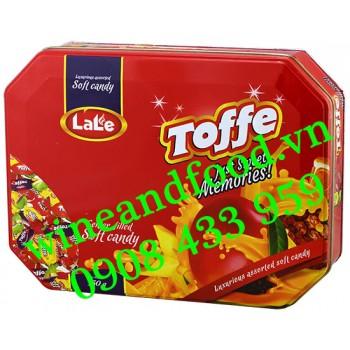 Kẹo trái cây Mini Toffy Lale hộp thiếc 350g