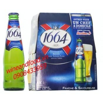 Bia Kronenbourg 1664 chai 250ml