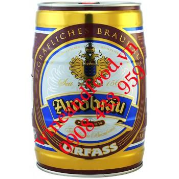 Bia Arcobrau Urfass vàng bom 5 Lít