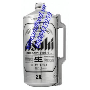 Bia Asahi 2l
