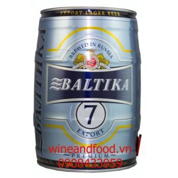 Bia Baltika 7 5l