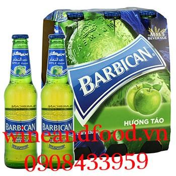Bia Barbican không cồn hương táo 330ml