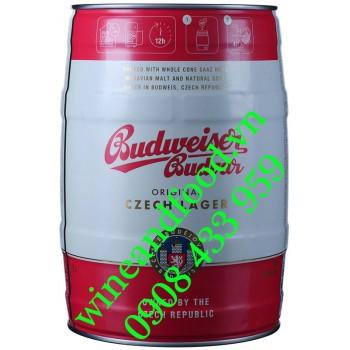 Bia Budweiser Budvar Bom 5l
