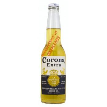 Bia Corona Extra 355ml hương tequila Mexico giá rẻ