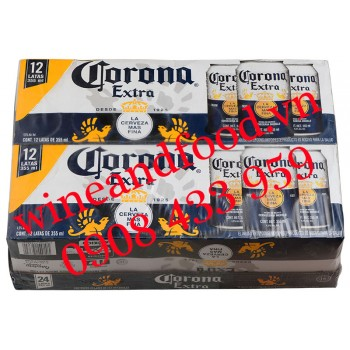 Bia Corona Extra Tequila lon 330ml