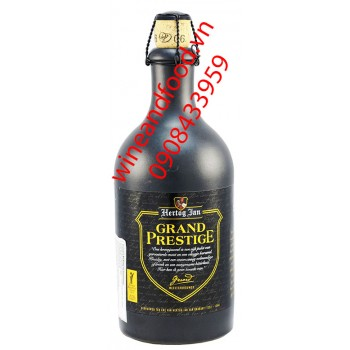 Bia đen Hertog Jan Grand Prestige 500ml