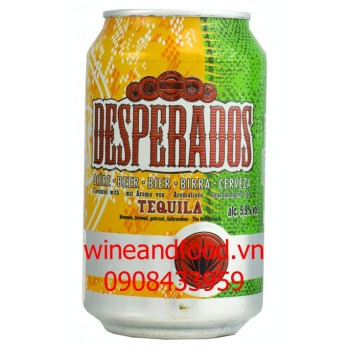 Bia Desperados lon 330ml