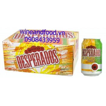 Bia Desperados thùng 12 lon x 330ml