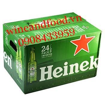 Bia Heineken Mỹ thùng 24 chai
