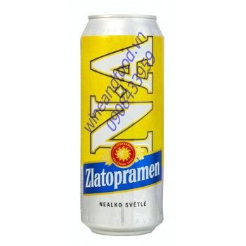 Bia không cồn Zlatopranmen 500ml