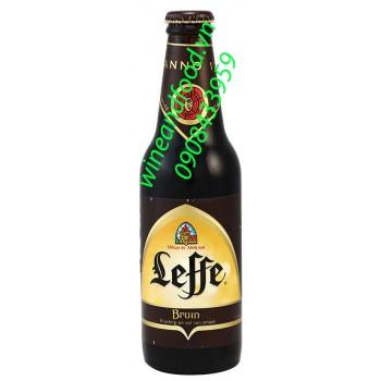 Bia Leffe nâu nhập khẩu từ Bỉ
