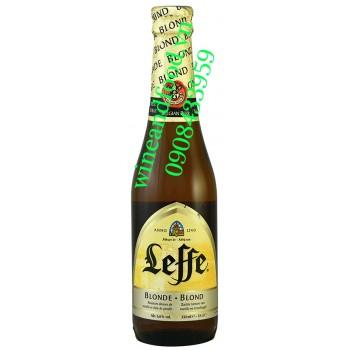 Bia Leffe vàng nhập từ Bỉ 33cl