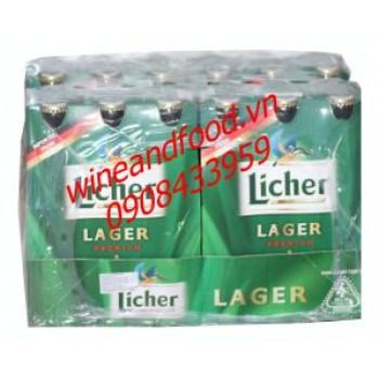 Bia Licher Lager chai 330ml