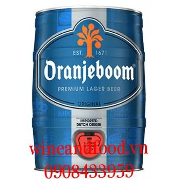 Bia Oranjeboom Hà Lan bom 5l