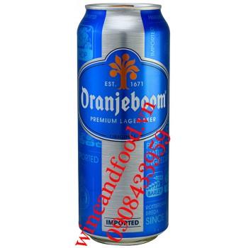 Bia Oranjeboom Hà Lan 5% Lon 500ml
