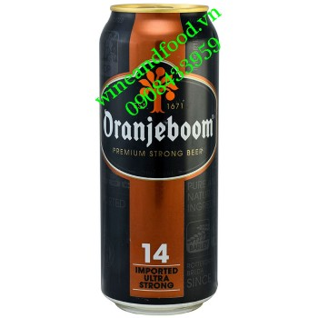 Bia Oranjeboom Ultra Strong 14% lon 500ml