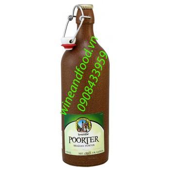 Bia Poorter Bỉ 750ml
