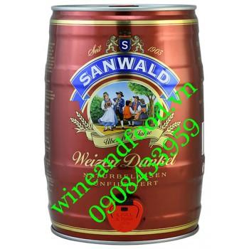 Bia Sanwald Weizen Dunkel bom 5l