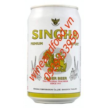Bia Singha 330ml nhập khẩu từ Thái Lan