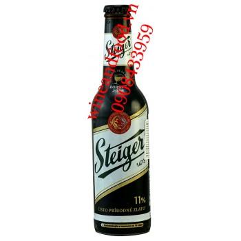 Bia Steiger đen 1473 chai 330ml