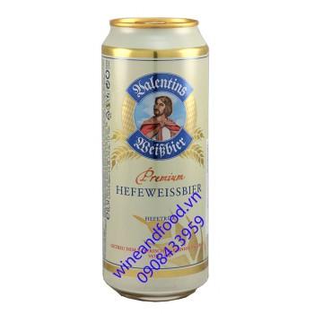 Bia Valentins Premium Hefeweissbier Hefetrub 500ml