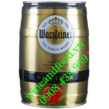 Bia Warsteiner Đức bom 5l