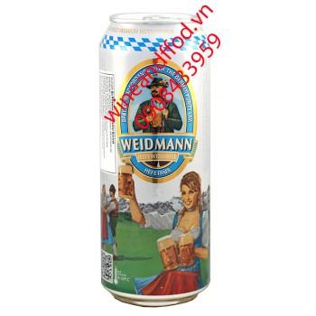 Bia Weidmann Hefeweissbier Hefetrun 500ml