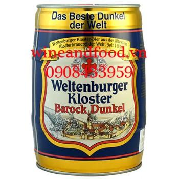 Bia Weltenburger Kloster Barock Dunkel 5l