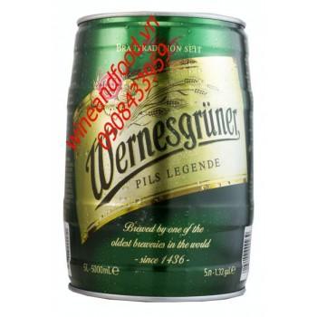 Bia Wernesgruner 5l