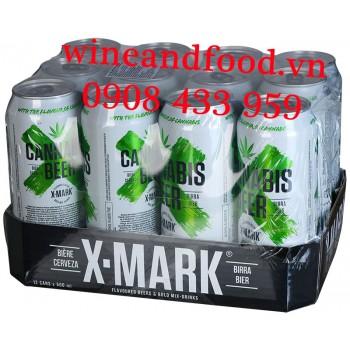 Bia X Mark Cannabis 500ml lốc 12 lon
