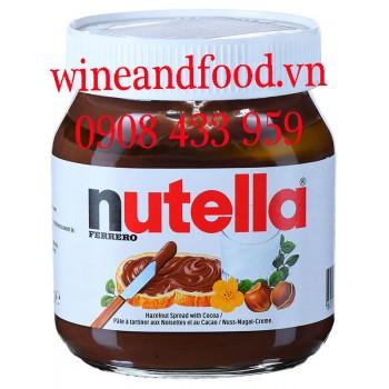 Bơ hạt dẻ Nutella 350g
