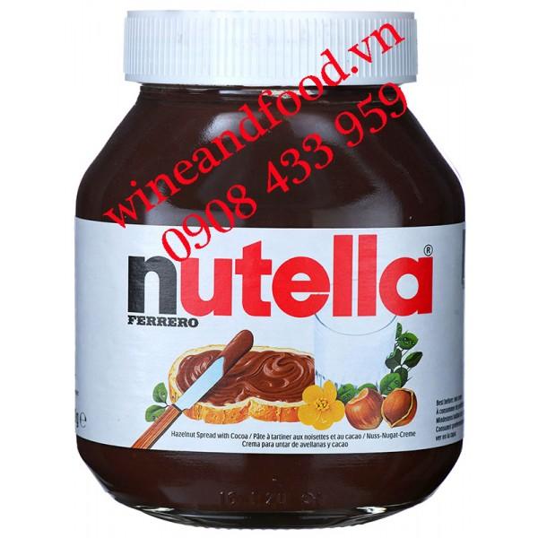 Bơ hạt dẻ Nutella 750g