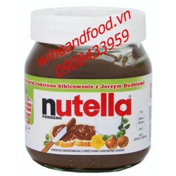 Bơ hạt dẻ Nutella Ý 350g