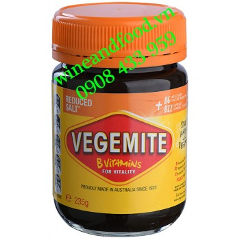 Bơ Vegemite Reduced Salt hũ 235g