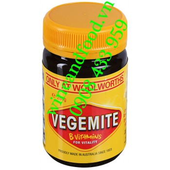 Bơ Vegemite Reduced Salt hũ 280g