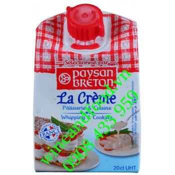 Kem sữa tươi Paysan Breton 200ml