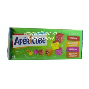 Phô mai Apericube 48 viên xanh lá