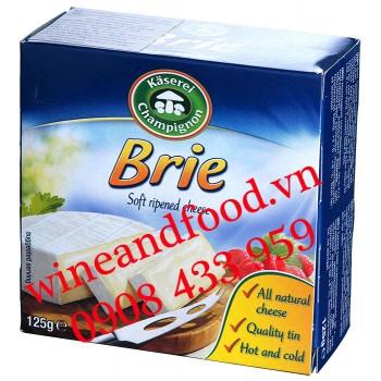 Phô mai Brie Kaserei Champignon 125g
