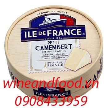 Phô mai Camembert Ile De France 125g