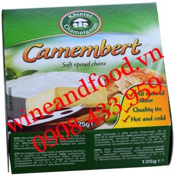 Phô Mai Camembert Kaserei Champignon 125g
