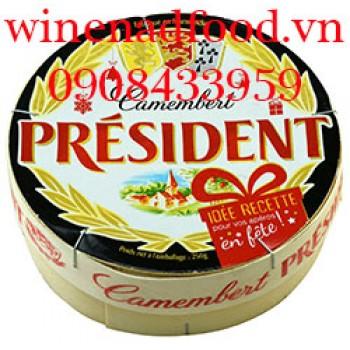 Phô mai Camembert President 250g