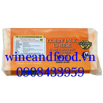 Phô mai Colby & Monterey Jack Real California Milk 227g