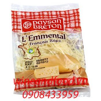Phô mai Emmental Paysan Breton bào sợi 70g
