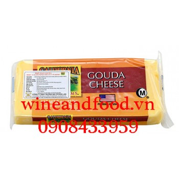 Phô mai Gouda cheese California Select Farms 227g