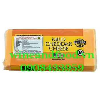 Phô mai Mild Cheddar Real California Milk 227g