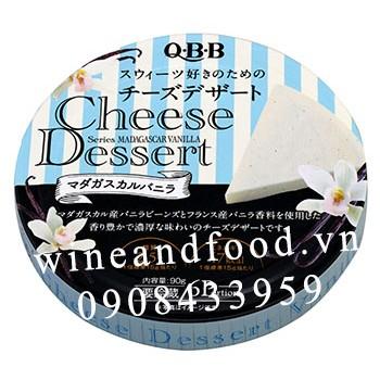Phô mai Nhật QBB Madagascar Vanilla 90g