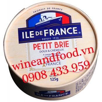 Phô mai Petit Brie Ile De France 125g