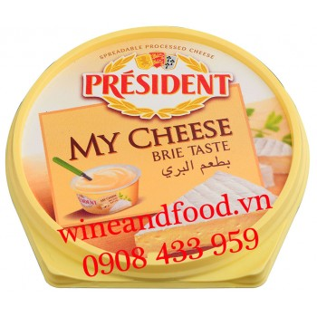 Phô mai phết My Cheese Brie Taste Président 125g